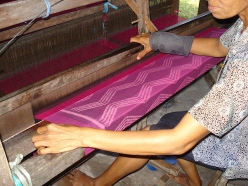 Ikat weave Bali 2