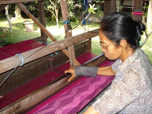 Ikat weave Bali