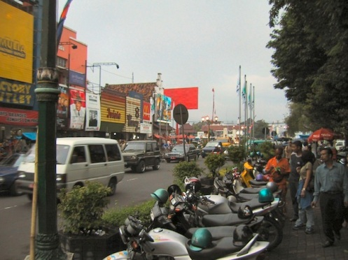 Yogyakarta streets